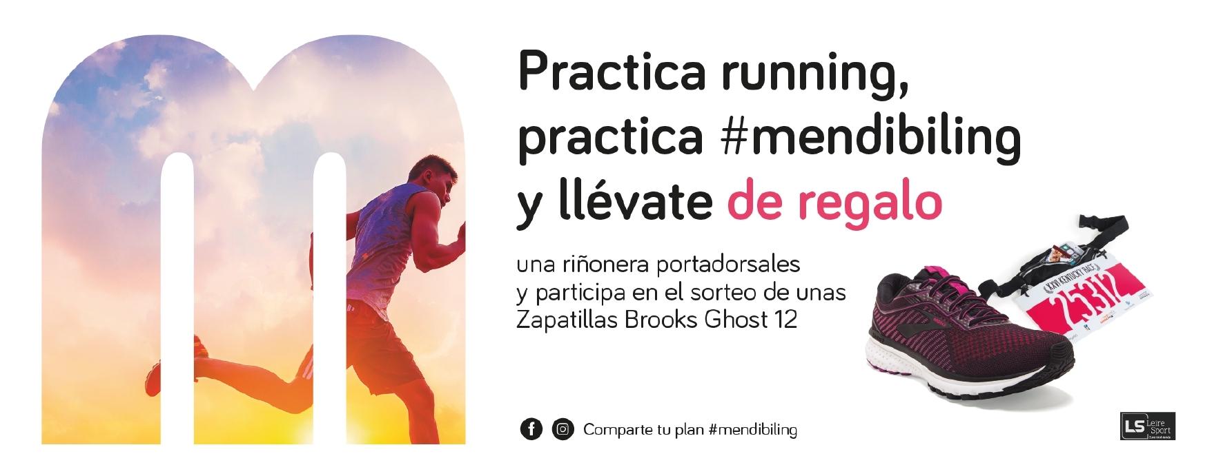 Practica running, practica #mendibiling
