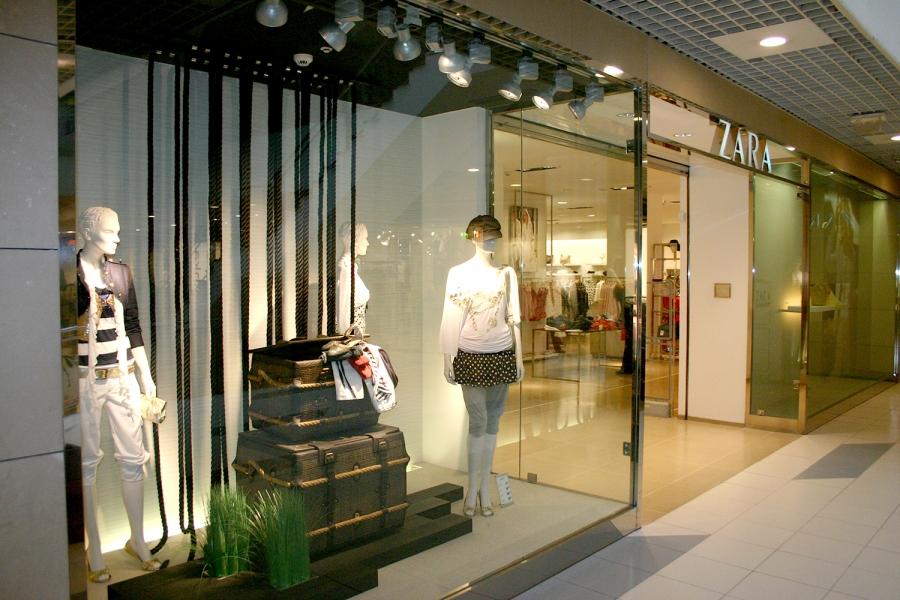 0ce9ae4463a5e Mode textile - Zara Femme - Centre Commercial Mendibil Irun Hendaye ...