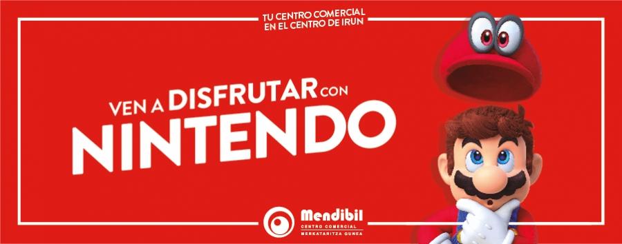 Ven a disfrutar con Nintendo