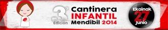 GANADORAS CANTINERA INFANTIL MENDIBIL 2014