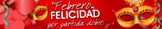 Llega San Valentín !!!!.... Llega el Carnaval !!!!