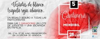 5º Elección de Cantinera Infantil Mendibil 2016