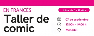 Taller de Comic (En Francés) con Lacunza.