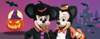 Halloween con Mickey y Minnie