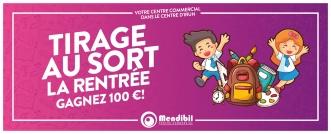 Gana una tarjeta regalo de 100 € con la vuelta al cole en Mendibil