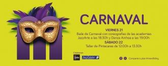 Desfile de Caranval y Taller de Pintacaras